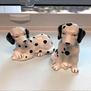 DALMATIAN Salt and Pepper Shakers. Never used